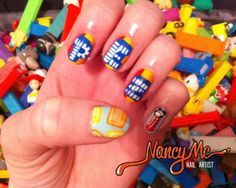 pez nails!   gotta try this one soon