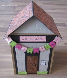 Wohnungseinweihung Geschenkbox Überraschungsbox Explosionsbox Haus Geschäftseröffnung Umzug Wohnungseinweihnung Hauseinweihung Wohnungseinrichtung Gutschein