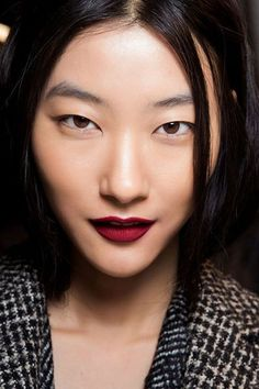 red lipstick. @thecoveteur