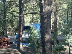 Hot Springs KOA Facilities - Our tent sites are in what we call the northwoods are providing a true outdoors experience.  We have tent sites with electricity and tent sites with no hook-ups.