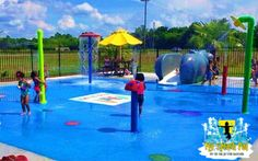 Great place for your kids to go to daycare. Such a fun setting and we loved building this splash pad.