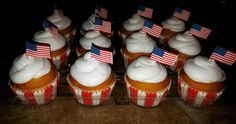 Patriotic Themed Cupcakes by Kreative Kinks