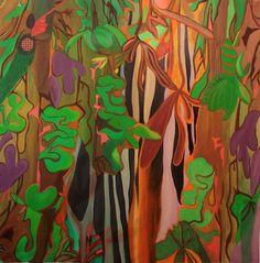 "A new favorite painter: Mariano Benavente; Oil, 2012, Painting ""Inutilmente no se vuelve aquí"""