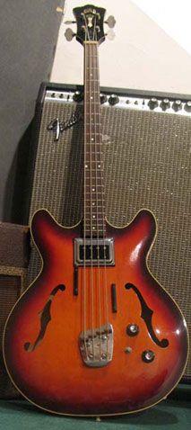 1968 Guild Starfire Bass