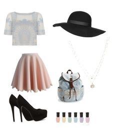 """""""chic"""" by dalma-pothorszki ❤ liked on Polyvore featuring Temperley London, Chicwish, Nly Shoes, Aéropostale, Deborah Lippmann, LC Lauren Conrad and Topshop"""