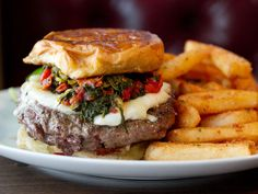 Perla Burger at Perla, New York City
