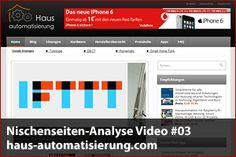 Nischenseiten-Analyse Video #03 – haus-automatisierung.com - Mehr Infos zum Thema auch unter http://vslink.de/internetmarketing