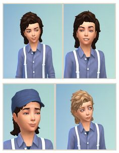 Windy Hair for Boys at Birksches Sims Blog • Sims 4 Updates
