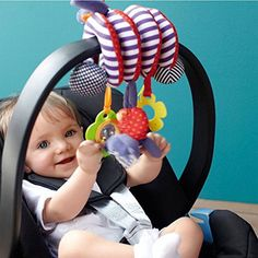 Developmental Baby Toys Baby Toddlers Pram Stroller Spiral Cot Hanging Musical Toys For Auto Car Seat Ne & Garden Baby Activity Toys, Infant Activities, Play Activity, Crib Toys, Baby Toys, Pram Stroller, Musical Toys, Developmental Toys, Baby Rattle