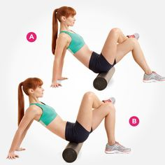 These are fantastic stretch/self massage techniques for sciatic/low back/hip and thigh/hamstring pain.  Seven awesome ways to use a foam Roller.