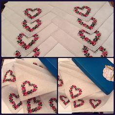 Kanaviçe Kalp Desenleri