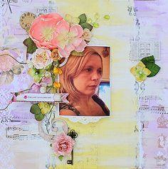 Follow your dreams **Scraps of Elegance** - Scrapbook.com Bo Bunny - C'est la Vie Collection