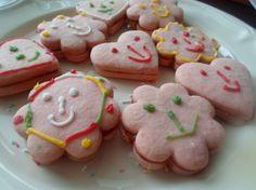 Fotorecept: Ružové linecké koláčiky