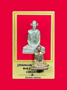 PHRAYA TAORUEAN//KING TORTOISE PIDTA PHRA LP RARE OLD THAI BUDDHA AMULET IDOL#475