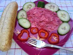 Šalát z kuracieho mäsa, cvikle a zeleru (fotorecept) - Recept