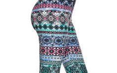 Leggings Floral Aztec