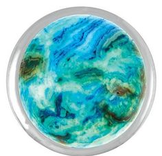 Ginger Snaps Blue Crazy Lace Agate Snap