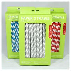 LOVE striped straws!