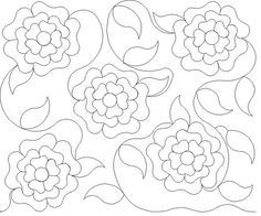 Shop | Category: Bread and butter E2E Patterns | Product: Wild Roses E2E