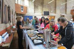 İhlas Koleji İngiltere yaz kampı sabah kahvaltısı