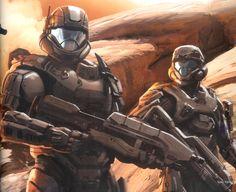 Robot Concept Art, Armor Concept, Halo Reach, Odst Halo, Starwars, Halo Spartan, Halo Armor, Halo Series, Halo Master Chief