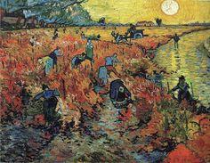 Vincent van Gogh - Roter Weinberg, 1888