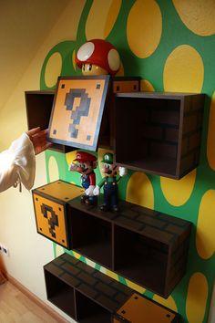 mario brothers bedroom ideas | Super Mario Bros Bedroom | Decorative Bedroom