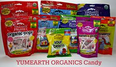 Make your VALENTINE'S DAY sweeter with YumEarth Organics candy.