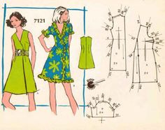Pattern-fashion 1960s