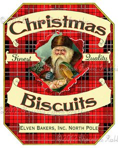 Christmas Candy Cookie Label Vintage Aged Tag by chocolaterabbit Christmas Treat Bags, Christmas Labels, Christmas Cards To Make, Christmas Clipart, Christmas Printables, Christmas Graphics, Christmas Collage, Christmas Minis, Christmas Images