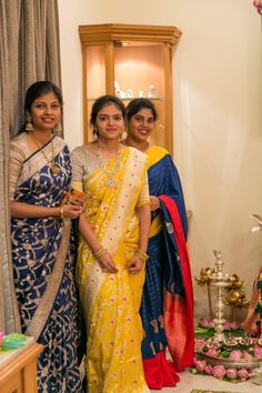 Saree Blouse Models, Pattu Saree Blouse Designs, Half Saree Designs, Lehenga Designs, Indian Bridal Sarees, Indian Bridal Outfits, Indian Bridal Fashion, Indian Fashion Dresses, Simple Blouse Designs