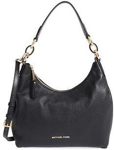 30401c7806f3 Michael Kors  Medium Isabella  Convertible Leather Shoulder Bag