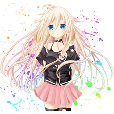 vocaloid, ia ❤ liked on Polyvore featuring anime, people, pics, vocaloid and filler