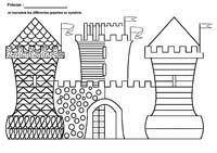 Home Decorating Style 2020 for Coloriage Magique Maternelle, you can see Coloriage Magique Maternelle and more pictures for Home Interior Designing 2020 at Coloriage Kids. Castles Topic, Chateau Moyen Age, Castle Crafts, 4th Grade Art, Grande Section, Château Fort, Cool Art Projects, Halloween Painting, Painted Paper
