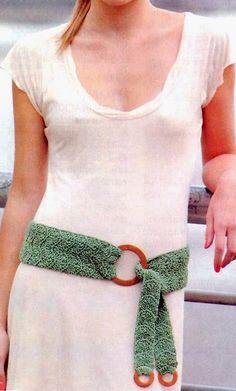 tejidos artesanales en crochet: faja todo terreno
