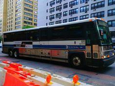 Express Bus, Buses, Trains, Transportation, Explore, Street, People, Exploring, People Illustration