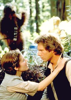 *Star Wars: Episode VI - Return of the Jedi (1983)  Mark Hamill, Harrison Ford, Carrie Fisher - Director: Richard Marquand IMDB: After rescuing Han Solo from the palace of Jabba the Hutt, the Rebels attempt to destroy the Second Death Star, while Luke Skywalker tries to bring his father back to the Light Side of the Force.