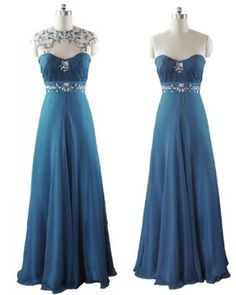 0364 Qpid Showgirl Teal Blue Evening Dress Bridesmaid Dress Prom Ball Gown  Formal Gown UK Size 8 - 20 (UK 12)  Amazon.co.uk  Clothing e51c6ef01