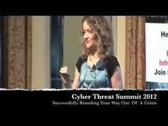 Lorraine Carter, Persona Branding and Design - Speaking at The Cyber Threat Summit 2012