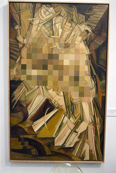 """Nude Descending a Staircase"", Sophie Matisse by Mark Shallcross, via Flickr"