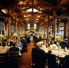 An Indoor Wedding Reception At The Outpost Feet Sheryl French Keystone Resort Weddings