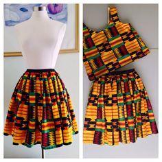 Articles similaires à Ankara Kente jupe pour les femmes sur Etsy African Print Skirt, African Print Dresses, African Print Fashion, Africa Fashion, African Fashion Dresses, African Dress, African Clothes, African Attire, African Wear
