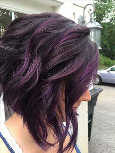 09b51018121424 25 Best Short Purple Hairstyles