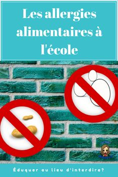 Allergies Alimentaires, Les Allergies, Letters, Places, Fonts, Letter