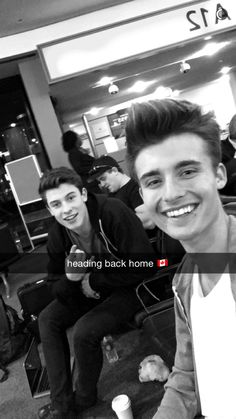 Shawn & Chris going back to Canada.