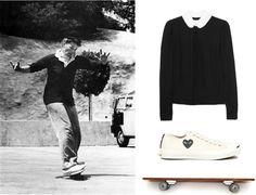 When I grow up I want to be Katharine Hepburn!     Tomboy Style: UNIFORM | Skating with Hepburn