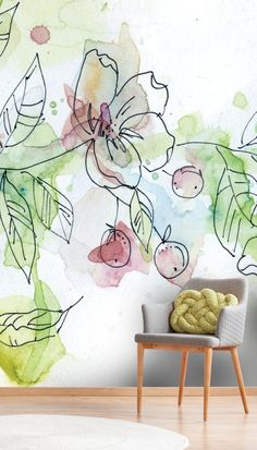 samsung wallpaper watercolor samsung wallpaper spring Full HD - Best of Wallpapers for Andriod and ios Wallpaper Spring, Green Wallpaper, More Wallpaper, Wall Wallpaper, Wallpaper Patterns, Bedroom Murals, Wall Murals, Mural Art, Wall Painting Decor