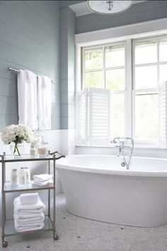 Grey Bathroom Ideas Combined With White Color And Bathroom Wainscoting Ideas Walls And Bifold Window Treatment Interior Design & Decoration Ideas & Furniture & Decoration & Bathroom Small Bathroom Wainscoting Ideas Decorating