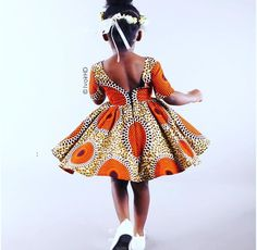 African Fashion Is Hot African Dresses For Kids, African Children, African Print Dresses, African Fashion Dresses, African Women, Girls Dresses, Ankara Styles For Kids, African Inspired Fashion, African Print Fashion