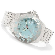 Android Men's Divemaster Silverjet Stainless Steel Bracelet Watch